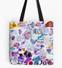 Psychedelic Cytology Tote Bag