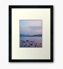 Pastel Ullswater Sunset Framed Print