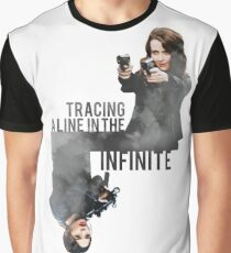 Tracing A Line In The Infinite (Person of Interest) Graphic T-Shirt