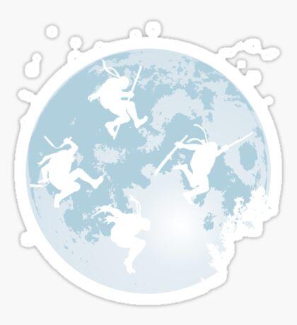 THE EXTRA-TURTLERIALS Sticker