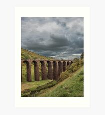 Smardale Gill Approaching Storm Art Print