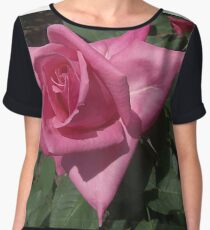 Rosy Rose Chiffon Top