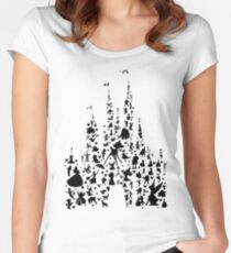 Happiest Castle On Earth Women's Fitted Scoop T-Shirt