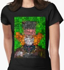 The Mad Hatter Womens Fitted T-Shirt