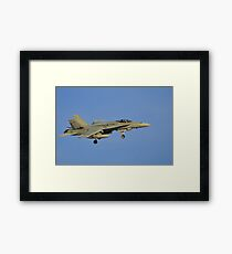 Royal Australian Air Force F/A-18 Hornet Framed Print