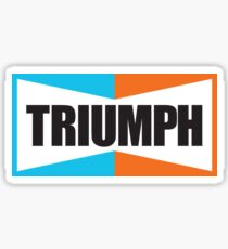 TRIUMPH (black) Sticker