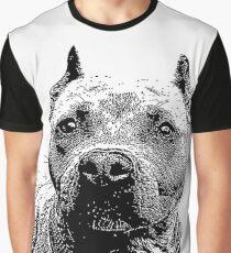 Pitbull Dog Graphic T-Shirt