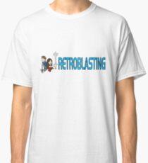RetroBlasting Logo Light Classic T-Shirt
