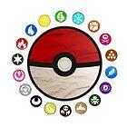 Pokemon - Pokeball by poketees