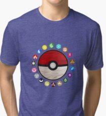 Pokemon - Pokeball Tri-blend T-Shirt