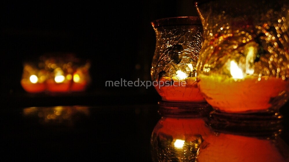 Autumn Candle Light by Jessica Liatys