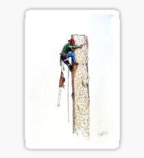 Arborist Tree Surgeon Lumberjack Logger Stihl Sticker