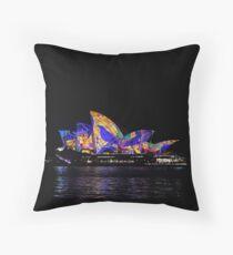 Vivid 2016 Opera House 30 Throw Pillow