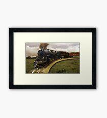 Old Train Framed Print