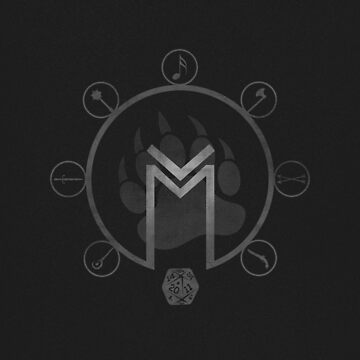 Critical Role: Vox Machina I (for dark backgrounds) by meghansolo