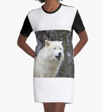LOOK INTO MY EYES... Graphic T-Shirt Dress
