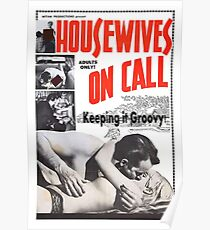 Housewives on Call Retro 50's Movie Poster