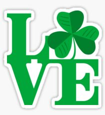 Shamrock Love Sticker
