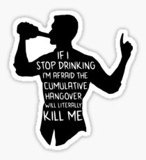 Archer - Cumulative Hangover  Sticker