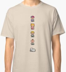 Earthbound - Characters Classic T-Shirt
