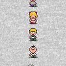 «Encadenado - Personajes» de muramas