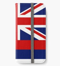 Hawaii State Flag - (Horizontal) iPhone Wallet/Case/Skin