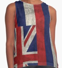Hawaii State Flag - Aged (Vertical) Contrast Tank