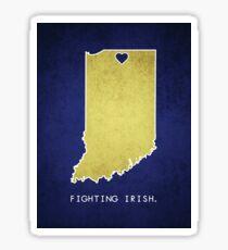 Notre Dame - Fighting Irish Sticker
