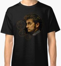 Tenth Doctor with Gallifreyan, Doctor Who Classic T-Shirt