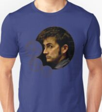 Tenth Doctor with Gallifreyan, Doctor Who Unisex T-Shirt