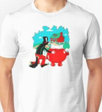 Big Bad Wolf & Kool Aid Man Unisex T-Shirt