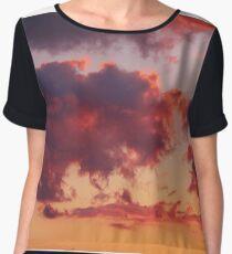 Clouds At Sunset Chiffon Top