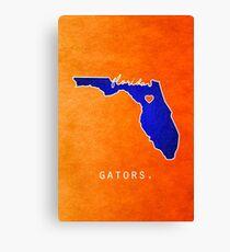 Florida Gators Canvas Print