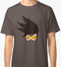 Tracer Hair and Goggles Vector Classic T-Shirt