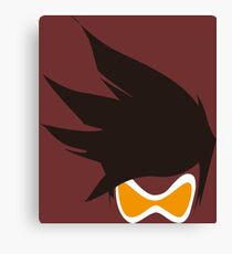 Tracer Hair and Goggles Vector Canvas Print
