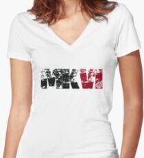 MKVI  Women's Fitted V-Neck T-Shirt