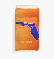 Florida Gators Duvet Cover