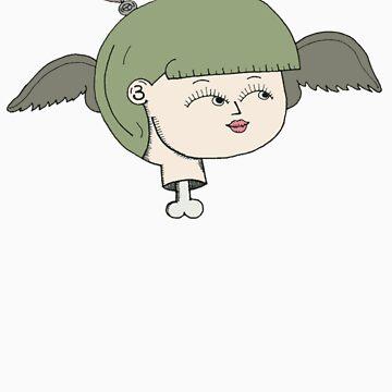 birdgirl by rustypop