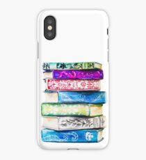 Stack of Books iPhone Case/Skin