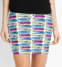 Stack of Books Mini Skirt