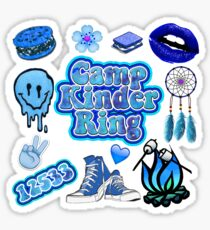 Camp Kinder Ring Sticker