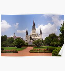 New Orleans - Andrew Jackson Square Poster