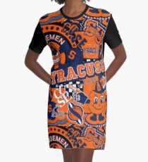 Vestido camiseta Collage de Syracuse