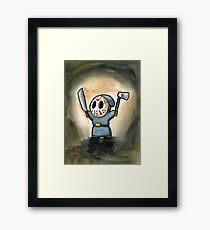 Friday the 13th Shyguy Framed Print