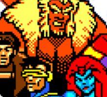 X-MEN Retro Game Design Sticker