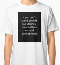 Support Marines Classic T-Shirt