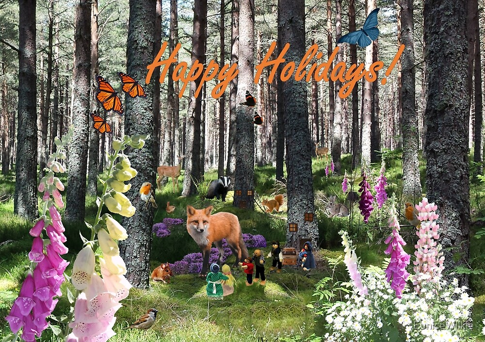 Going on Holiday - Happy Holidays Greeting Card by EuniceWilkie