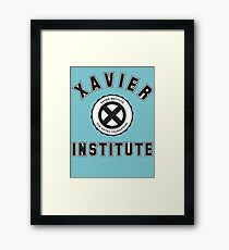 XAVIER INSTITUTE FOR GIFTED YOUNGSTERS Framed Print