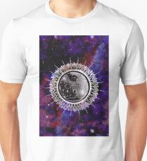 Galaxy Moon Mandala Unisex T-Shirt