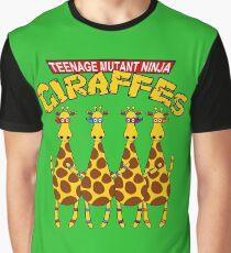 Teenage Mutant Ninja Giraffes Graphic T-Shirt
